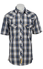 Larry Mahan Mens S/S Western Snap Shirt LM1320719NS