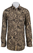 Larry Mahan Mens L/S Western Snap Shirt LM1330702