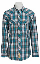 Larry Mahan Mens L/S Western Snap Shirt LM1330709NS