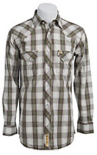 Larry Mahan Mens L/S Western Snap Shirt LM1330711NS