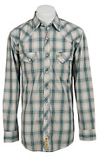 Larry Mahan Mens L/S Western Snap Shirt LM1330712NS