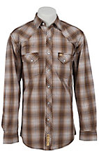 Larry Mahan Mens L/S Western Snap Shirt LM1330714NS