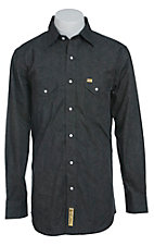 Larry Mahan Mens L/S Western Snap Shirt LM1340202