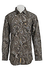 Larry Mahan Mens L/S Western Snap Shirt LM1340207