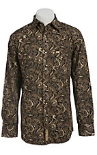 Larry Mahan Mens L/S Western Snap Shirt LM1340701