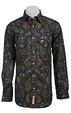Larry Mahan Mens L/S Western Snap Shirt LM130705
