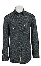 Larry Mahan Mens L/S Western Snap Shirt  LM1340706