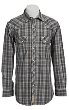 Larry Mahan Mens L/S Western Snap Shirt LM1340708NS