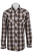 Larry Mahan Mens L/S Western Snap Shirt LM1340710NS