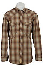 Larry Mahan Mens L/S Western Snap Shirt LM1340711NS