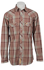 Larry Mahan Mens L/S Western Snap Shirt LM1340713NS