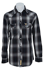 Larry Mahan Mens L/S Western Snap Shirt LM1340714NS