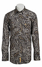 Larry Mahan Mens L/S Western Snap Shirt LM1340717