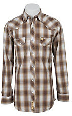 Larry Mahan Mens L/S Western Snap Shirt LM1340719NS