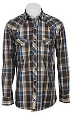 Larry Mahan Mens L/S Western Snap Shirt LM1340721NS