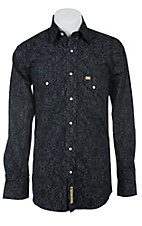 Larry Mahan Mens L/S Western Snap Shirt LM1340722