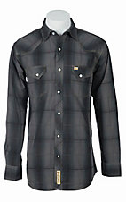 Larry Mahan Mens L/S Western Snap Shirt LM1341116S