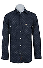 Larry Mahan Mens L/S Western Snap Shirt LM1410201