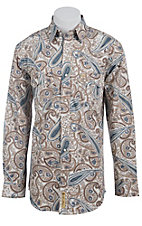 Larry Mahan Mens L/S Western Snap Shirt LM1410202