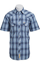 Larry Mahan Mens S/S Western Snap Shirt LM1410702NS