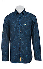 Larry Mahan Mens L/S Western Snap Shirt LM1410703N