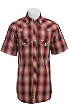 Larry Mahan Mens S/S Western Snap Shirt LM1410711C