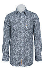 Larry Mahan Mens L/S Western Snap Shirt LM1410713