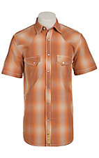 Larry Mahan Mens S/S Western Snap Shirt LM1410714CS