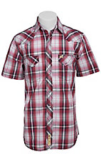 Larry Mahan Mens S/S Western Snap Shirt LM1410716C