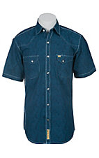 Larry Mahan Mens S/S Western Snap Shirt LM1410721NS