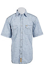 Larry Mahan Mens S/S Western Snap Shirt LM1410722NS
