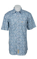 Larry Mahan Mens S/S Western Snap Shirt LM1410723N