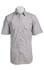 Larry Mahan Mens S/S Western Snap Shirt LM1410724