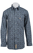Larry Mahan Mens L/S Western Snap Shirt LM1410728