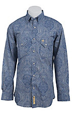 Larry Mahan Mens L/S Western Snap Shirt  LM1410730