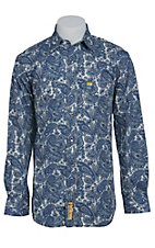 Larry Mahan Mens L/S Western Snap Shirt LM1410731
