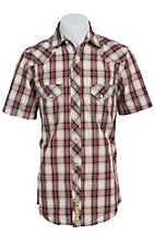 Larry Mahan Mens S/S Western Snap Shirt LM1411101