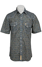 Larry Mahan Mens S/S Western Snap Shirt LM1411103