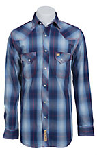 Larry Mahan Mens L/S Western Snap Shirt  LM1411107S