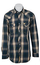 Larry Mahan Mens L/S Western Snap Shirt LM1411116S
