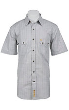 Larry Mahan Mens S/S Western Snap Shirt LM1420201