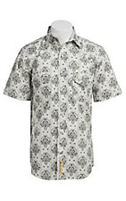 Larry Mahan Mens S/S Western Snap Shirt LM1420202