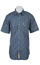 Larry Mahan Mens S/S Western Snap Shirt LM1420203