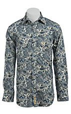 Larry Mahan Mens L/S Western Snap Shirt LM1420204