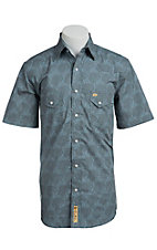 Larry Mahan Mens S/S Western Snap Shirt  LM1420702