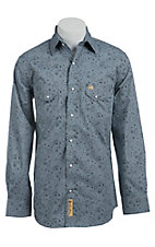 Larry Mahan Mens L/S Western Snap Shirt LM1420703
