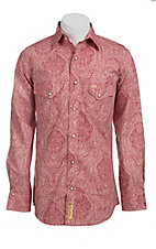 Larry Mahan Mens L/S Western Snap Shirt  LM1420704