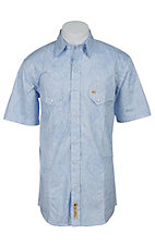 Larry Mahan Mens S/S Western Snap Shirt LM1420901