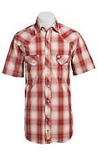 Larry Mahan Mens S/S Western Snap Shirt LM1421401