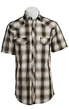 Larry Mahan Mens S/S Western Snap Shirt LM1421402